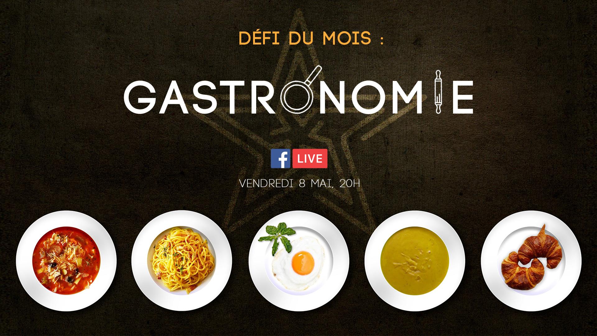 Défi Gastronomie